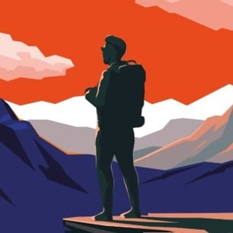 Cover Gipfelstuermer Mann Quadrat